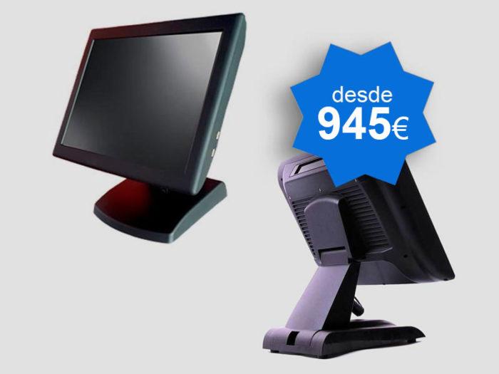 PACK TPV Táctil NICE POS 15″ Windows - Balanzas TPV Valencia